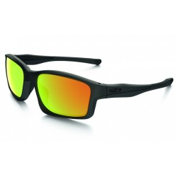 Oakley CHAINLINK colore: Matte Black/Fire Iridium