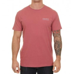 RIP CURL T-SHIRT RAINBOW SIGN SS rosso