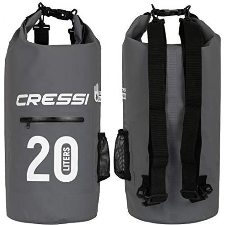 CRESSI DRY BAG CON ZIP 10lt - 20lt